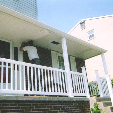 porch railing new