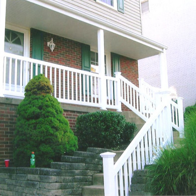 railing for steps