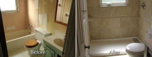 bath beforeafter