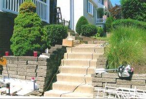 railing for steps